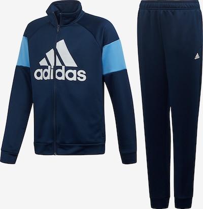 ADIDAS PERFORMANCE Trainingsanzug in hellblau / dunkelblau / weiß, Produktansicht