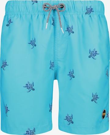Shiwi Boardshorts 'Turtle' i blå