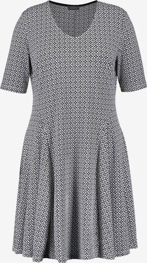 SAMOON Kleid in schwarz / weiß, Produktansicht