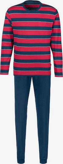 HIS JEANS Pyjama in rot, Produktansicht