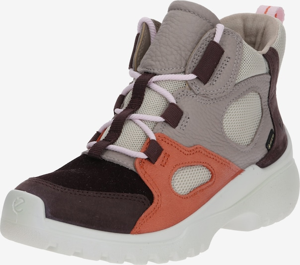 ECCO Sneaker 'Xperfection FigFigApricotGreyRose' in grau / apricot / rosa, Produktansicht