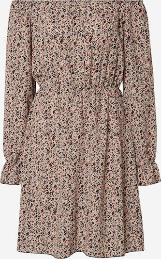 Sublevel Kleid 'Dob' in beige / braun / weiß, Produktansicht