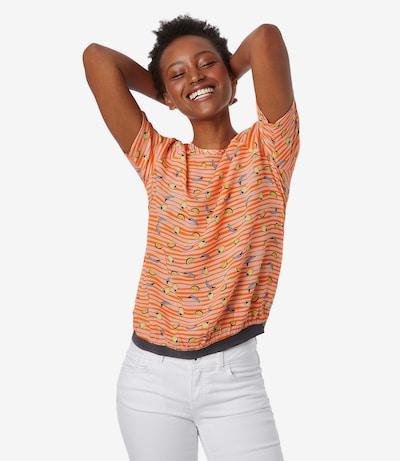 Soccx Blusenshirt in orange, Modelansicht