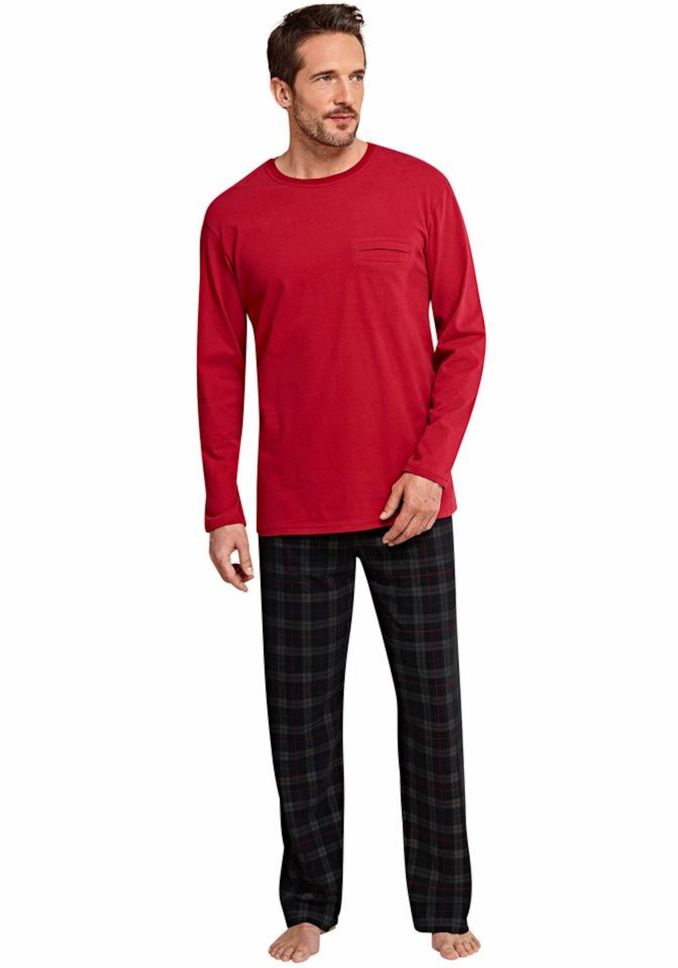 SCHIESSER Pyjama »Scottland Yard« 100% Authentisch Günstiger Preis Wahl Online CCgc91H9