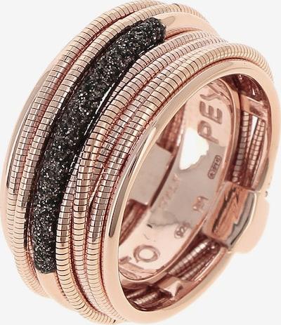Pesavento Ring in rosegold / schwarz, Produktansicht