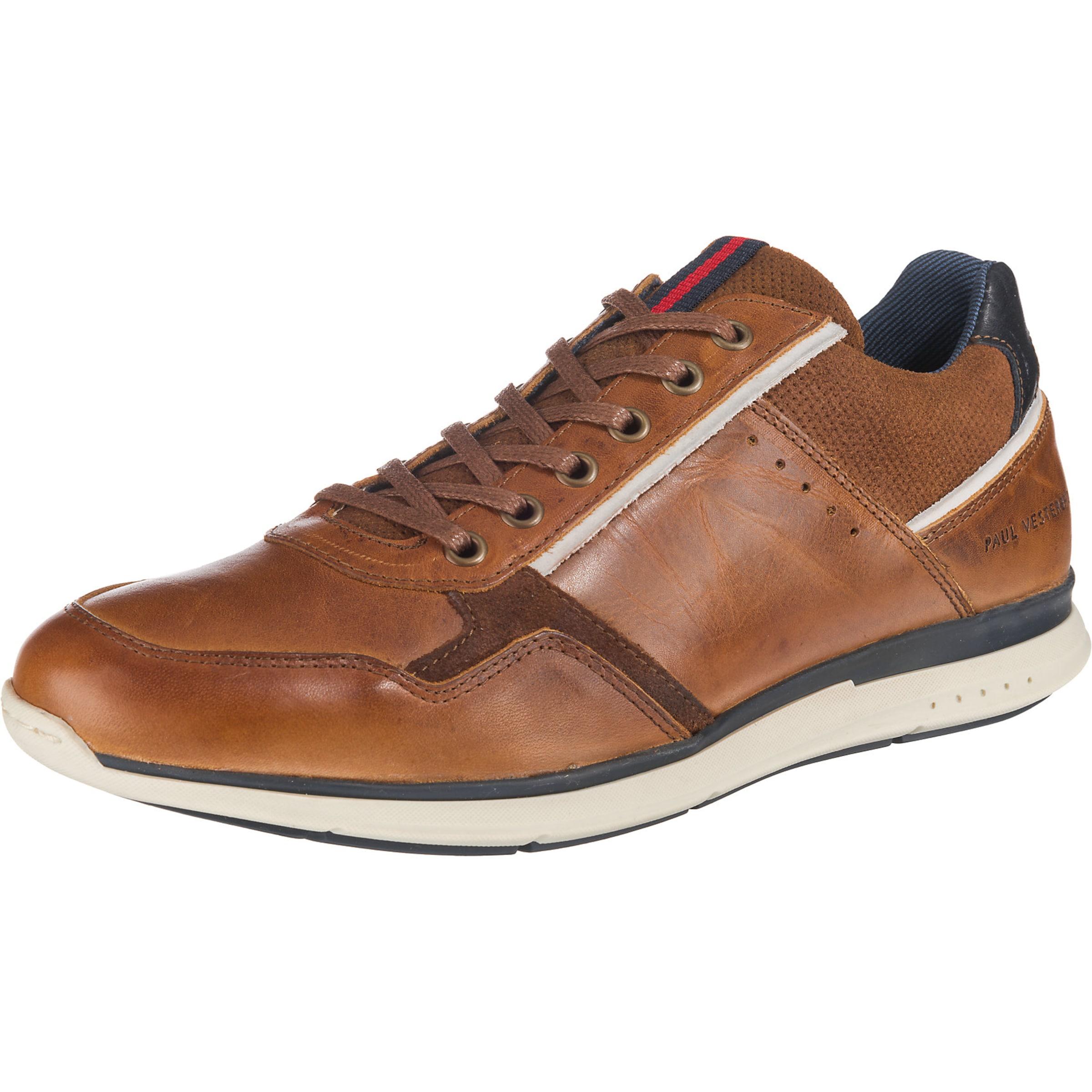Paul Leder Sneakers Braun Vesterbro In PnwO8kX0