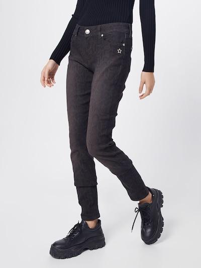 Glücksstern Jeansy 'Melina' w kolorze brązowy / czarnym, Podgląd na modelu(-ce)