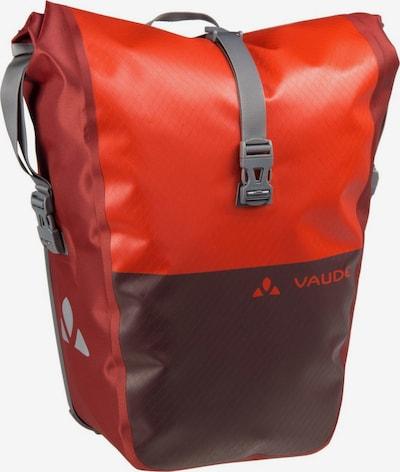 VAUDE Fahrradtasche 'Aqua Back Color' in weinrot / hellrot, Produktansicht