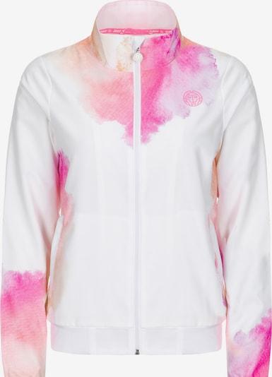 BIDI BADU Trainingsjacke in pink / weiß, Produktansicht