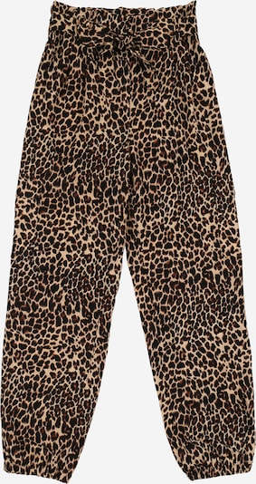 NAME IT Hose 'NKFFIONY LOOSE PANT' in braun / schwarz, Produktansicht