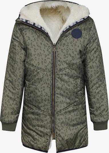 WE Fashion Jacket 'Marijn' in khaki / weiß, Produktansicht