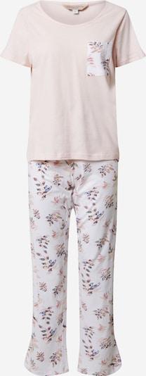Dorothy Perkins Pyjama 'Blush Floral' in rosa / weiß, Produktansicht