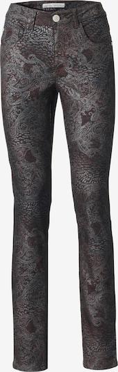 heine Jeans in kastanienbraun / silber, Produktansicht