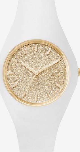 ICE WATCH Armbanduhr 'ICE glitter, ICE.GT.WGD.U.S.15' in gold / weiß, Produktansicht