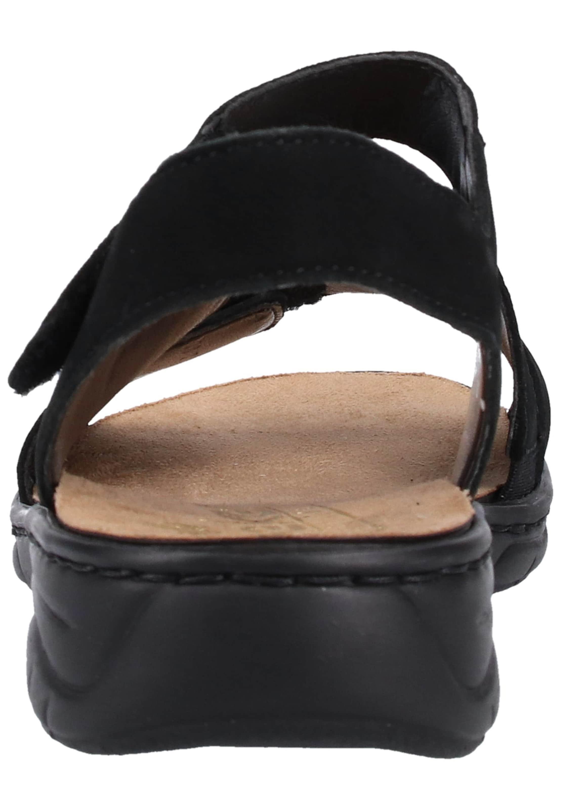 Lanières Rieker Sandales À Noir En Nn0Oyv8mw