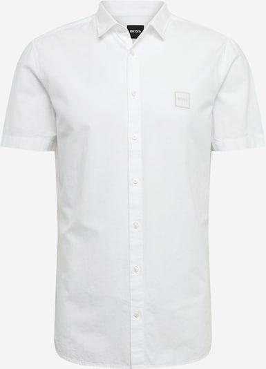 BOSS Chemise 'Magneton' en blanc, Vue avec produit