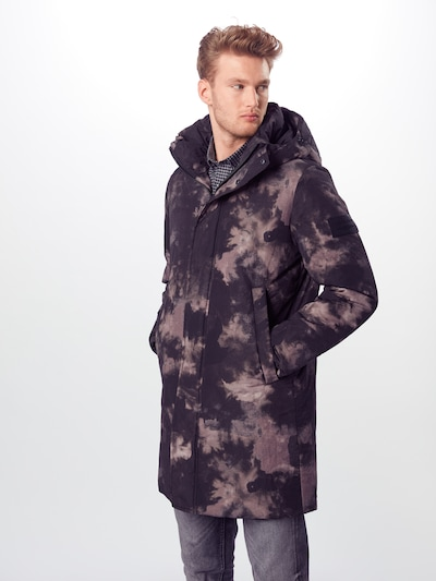 JACK & JONES Mantel in schwarz, Modelansicht