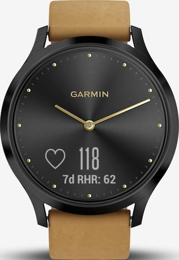 GARMIN Hybrid-Smartwatch in braun / schwarz, Produktansicht