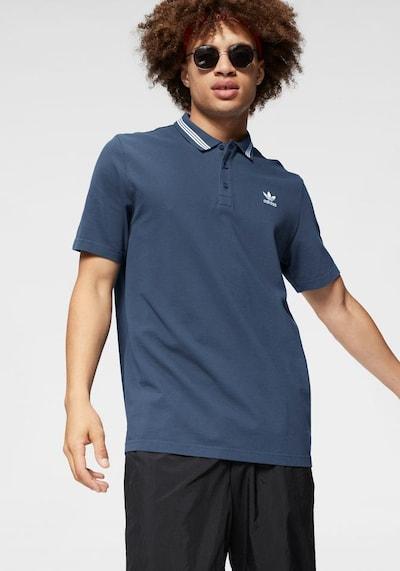 ADIDAS ORIGINALS Poloshirt 'Pique' in blau: Frontalansicht