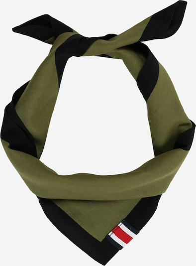 TOMMY HILFIGER Tuch 'LH BANDANA' in oliv / schwarz, Produktansicht
