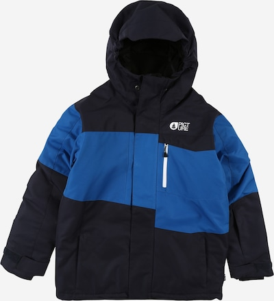 Picture Organic Clothing Sportjacke 'MILO' in himmelblau / dunkelblau: Frontalansicht