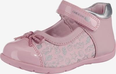 GEOX Ballerina 'Elthan Girl' in rosa / silber, Produktansicht