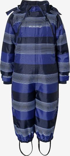 MINYMO Schneeanzug in blau / hellblau / dunkelblau, Produktansicht