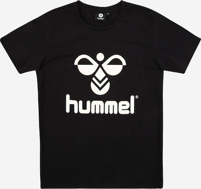 Hummel T-Shirt  'TRES' in schwarz / weiß: Frontalansicht