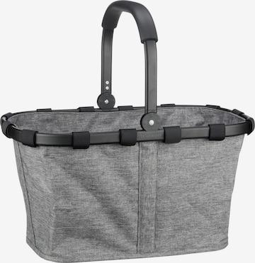 REISENTHEL Einkaufstasche ' carrybag frame twist ' in Grau