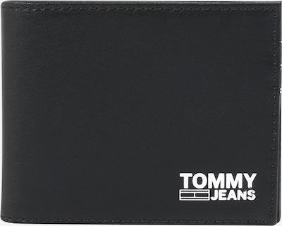 Portofel Tommy Jeans pe negru / alb, Vizualizare produs