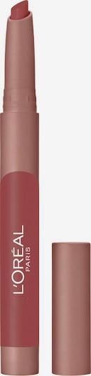 L'Oréal Paris Lippenstift 'Infaillible Matte Lip Crayon' in rosa, Produktansicht