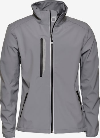 CODE-ZERO Softshell-Jacke 'HALYARD' in Grau
