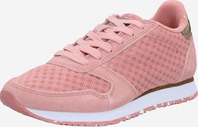 WODEN Sneakers laag in de kleur Bruin / Pink, Productweergave