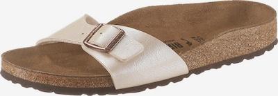 BIRKENSTOCK Sandály 'Madrid' - krémová / perlově bílá, Produkt