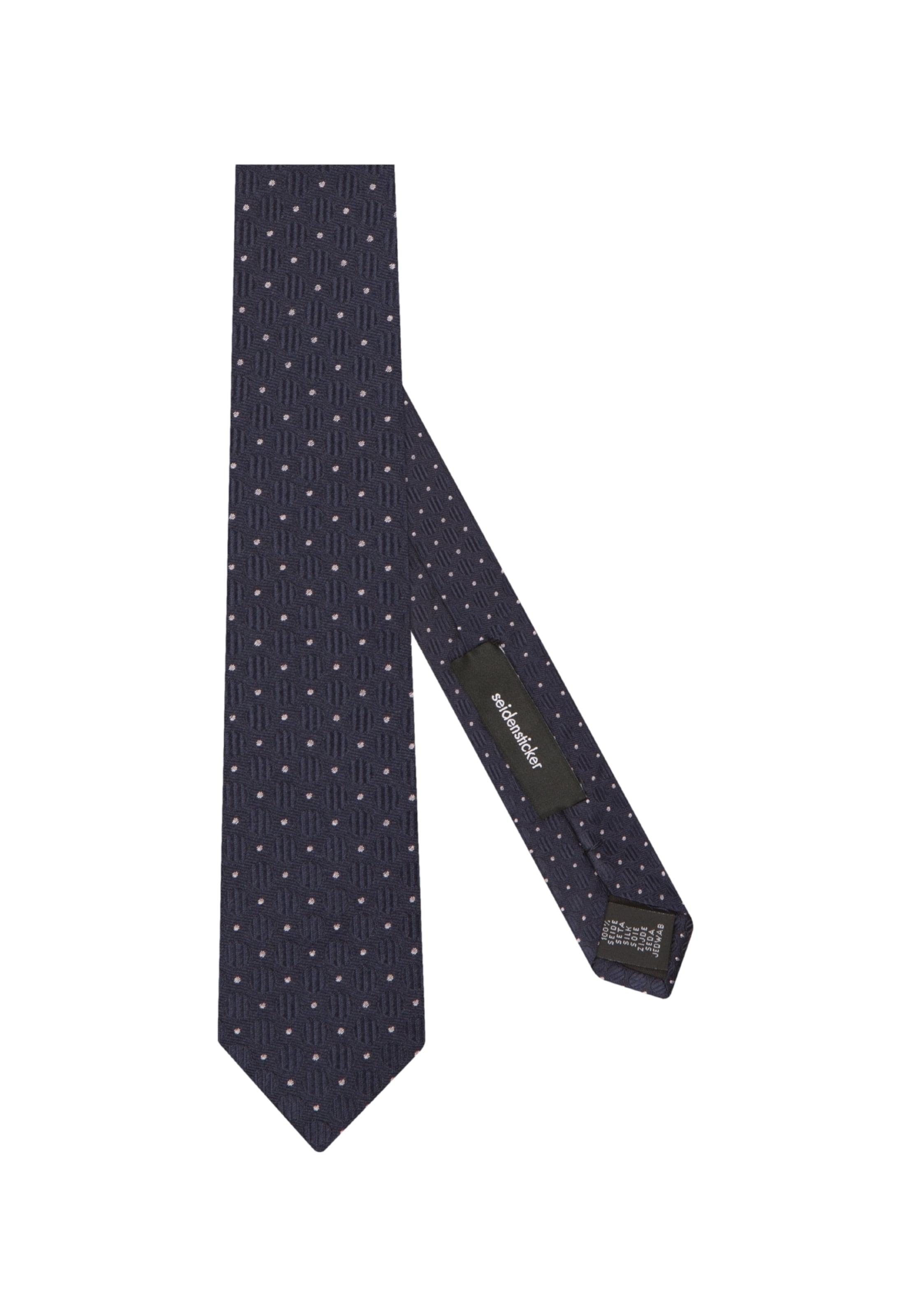 Krawatte KobaltblauWeiß Krawatte 'slim' Seidensticker In Krawatte In 'slim' Seidensticker Seidensticker 'slim' In KobaltblauWeiß YEWDHIe92