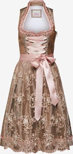 MARJO Dirndl Riona w kolorze beżowy / różowy pudrowym pu8p5tbp