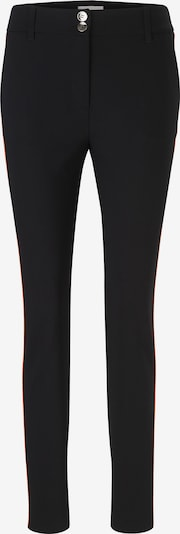 Kelnės iš heine , spalva - juoda: Vaizdas iš priekio