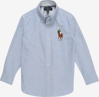 POLO RALPH LAUREN Overhemd 'OXFORD' in de kleur Lichtblauw, Productweergave