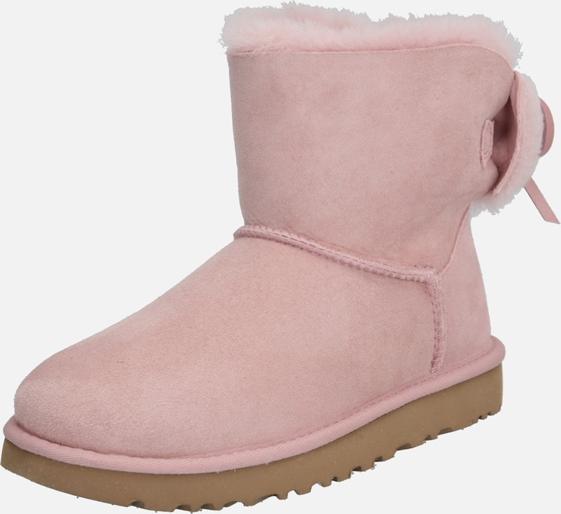 UGG Stiefel 'CLASSIC DOUBLE BOW MINI' in rosa, Produktansicht