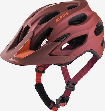 Alpina Fahrradhelm in dunkelorange, Produktansicht