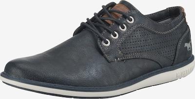 MUSTANG Buty sznurowane w kolorze granatowy / brązowym, Podgląd produktu