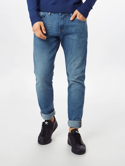 TOM TAILOR DENIM Jeans 'PIERS' in blue denim, Modelansicht