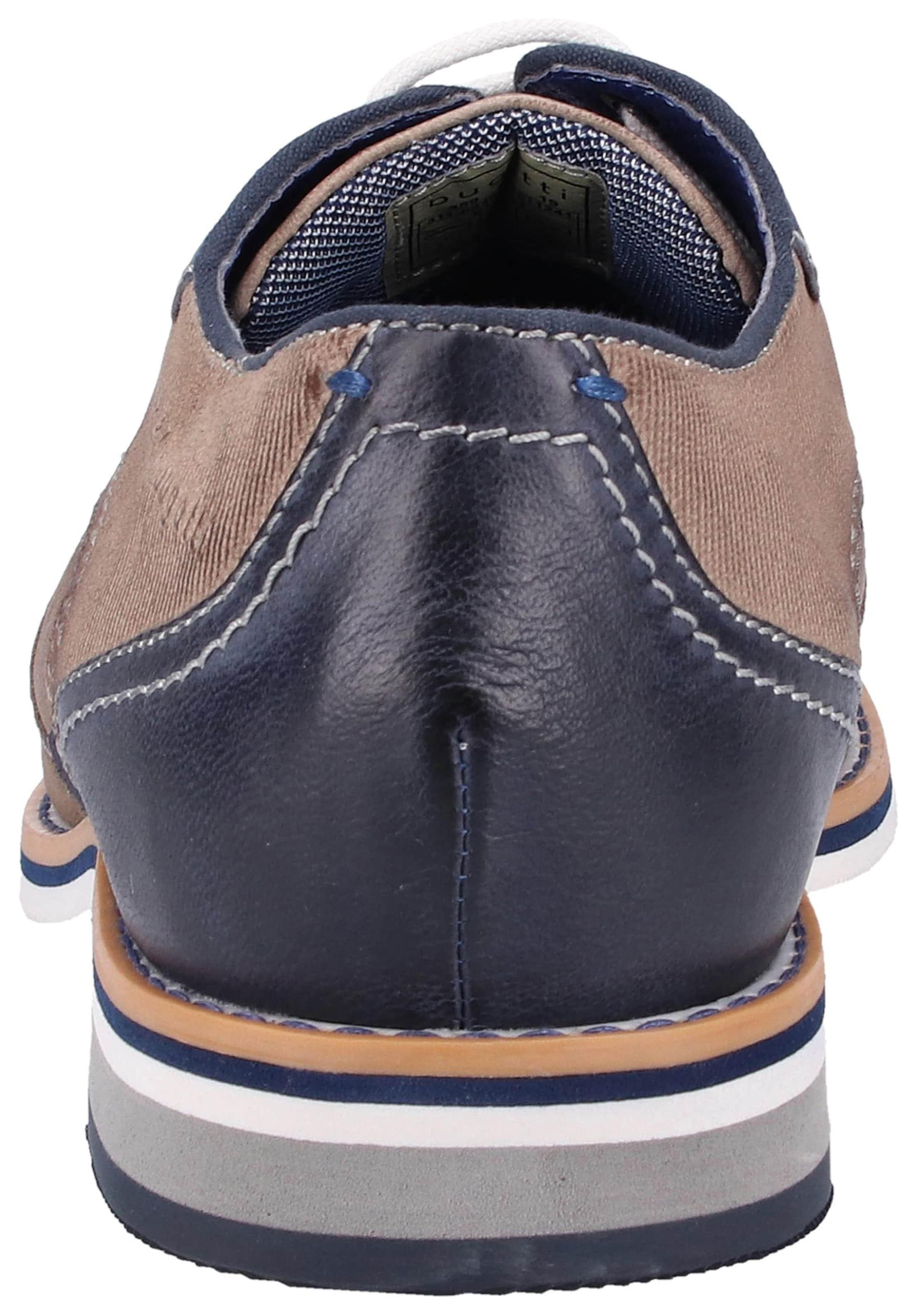 À Chaussure En Bugatti Lacets BleuGris hdstQrC