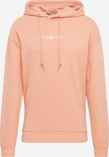 JACK & JONES Sweatshirt 'JORREMI SWEAT HOOD TC120' in apricot, Produktansicht