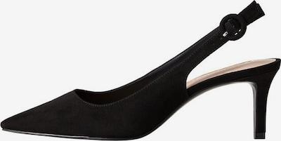 MANGO Slingpumps in schwarz, Produktansicht