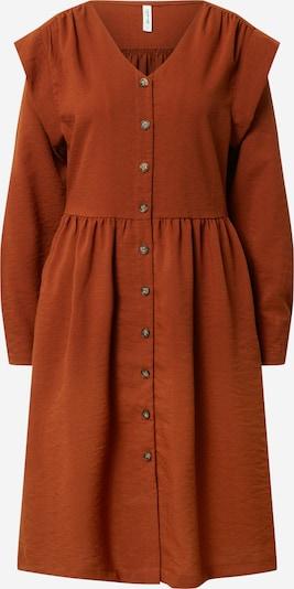 Blend She Kleid 'DESSE' in rostbraun, Produktansicht