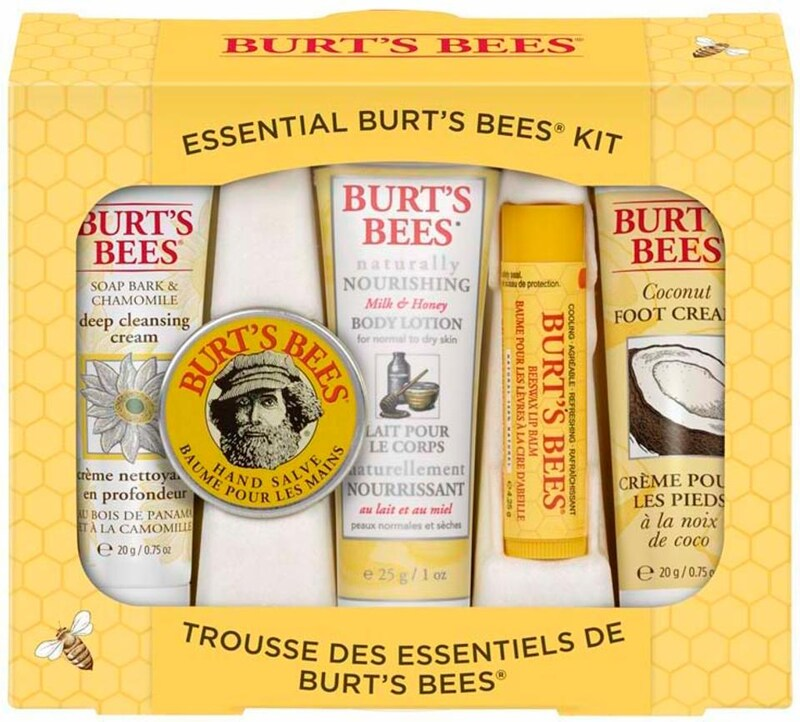 BURT'S BEES 'Essential Burt's Bees Kit' Kennenlernset 5-tlg.