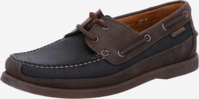 MEPHISTO Schnürschuhe in dunkelbraun / schwarzmeliert, Produktansicht