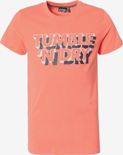 TUMBLE N' DRY T-Shirt 'Fandor' in kobaltblau / dunkelorange / weiß, Produktansicht