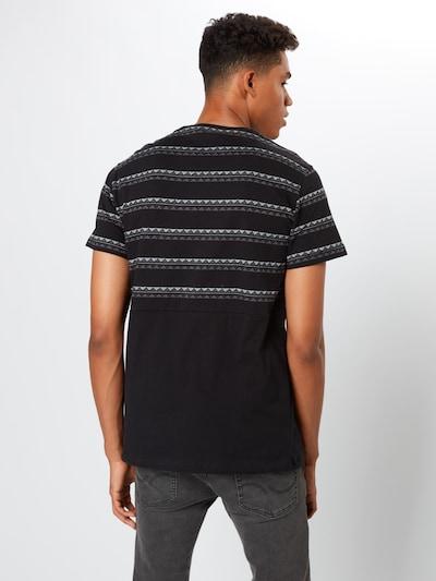 Iriedaily T-Shirt 'Monte Noe' in schwarz: Rückansicht